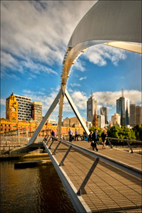 Footbridge X The Yarra